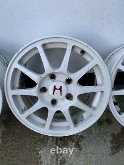 15 5x114.3 Integra Dc2 / Civic Type R Alloy Wheels