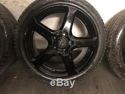 17 Honda Alloys Black Pentas 5x114.3 Accord Civic Type R