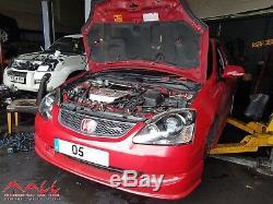 2001 2006 Honda CIVIC Type R Engine 2.0 K20a2 Ep3 Model