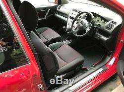 2004 Red Honda CIVIC Type S Vtec 1600 Sport Car Only 82000 Miles