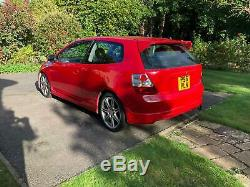 2005 Honda Civic Type R EP3 Facelift Red Tegiwa intake
