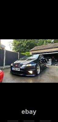 2008 Honda Civic Fn2 Type R mot coilovers low