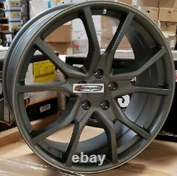 20 Wheels Gunmetal Rims Type R Style Fit Honda Accord Civic Sedan Coupe 5 lug