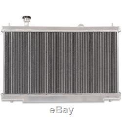 35mm ALUMINIUM ALLOY RACE ENGINE RADIATOR RAD FOR HONDA CIVIC TYPE R EP3 00-05