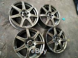 4x Genuine Honda Civic Type R FN2 18 Alloy wheels 5x114.3 Accord EP3