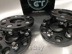 4x Super GT 15mm Hubcentric Wheel Spacers For Honda Civic EP3 FN2 DC5 Type R