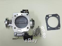 70mm Throttle Body Billet Assembly OEM TPS For HONDA DC5 EP3 TYPE R K20A2 THC5