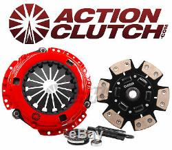 ACTION CLUTCH STAGE 3 CLUTCH KIT FITS HONDA CIVIC Si 6-SPEED K20 K24 RSX TYPE S