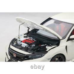 AUTOart Honda Civic Type R FK8 118 Model Car Championship White 73266