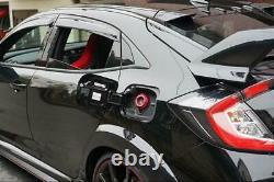 AXIS-PARTS Aluminum Fuel Cap Cover for the Honda Civic FK8 Type-R