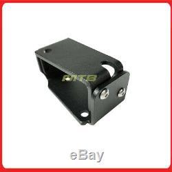 Adjustable Rear Spoiler Wing Riser JDM Style for Honda Civic EK 1996-2000 Black