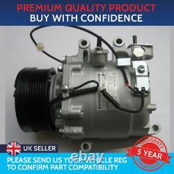 Air Con Compressor Pump To Fit Honda CIVIC Mk8 1.8 1.8 Type S Honda Fr-v 1.8