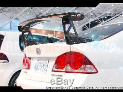Carbon Fiber Mugen GT Type-R Style Spoiler for 2006 -11 4dr Honda Civic