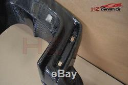 Carbon Fiber Rear Bumper Lip Diffuser Spoiler For Honda CIVIC Fk2 Type R 2015