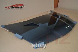 Carbon Vented Bonnet + Removable Trays For Honda CIVIC Fn2 Type R 2007 2011