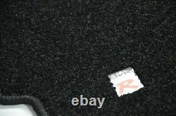 Carpet Set Floor Mats Black Type-r 4 Pc for LHD 96-00 Honda Civic Ek9 (92-95 EG)