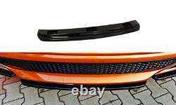 Central Rear Splitter For Honda CIVIC Mk8 Type S/r (2006-2011)