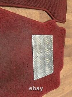 Civic Type R EK9 B16B Genuine OEM Red Floor Mats Carpet