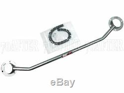 DC Sports Carbon Steel Front Strut Tower Bar for 16-19 Honda Civic Exc. Type-R