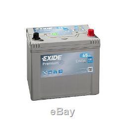 EA654 Exide Premium 65Ah 580CCA 12v Type 005 Car Battery 4 Year Warranty