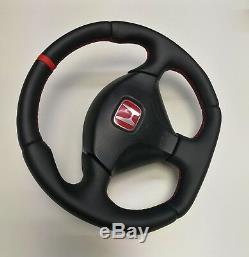 Flat Bottom Steering Wheel Honda Acura CIVIC Sport Type R VII Gen