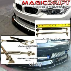For 12-13 Honda Civic 9th Gen Coupe Si HFP Style Rear Bumper Corner Lip Spats