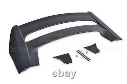 For 16-Up Honda Civic Hatchback MUGEN Style Side Window Visors & Rear Roof Wing