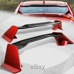 For 2016-19 Honda Civic 4DR/Sedan TYPE-R Factory Red Trunk Carbon Fiber Spoiler