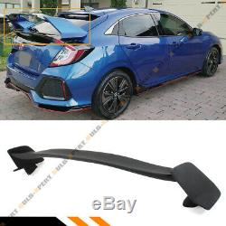 For 2016-2019 Honda CIVIC LX Ex Sport Hatchback Type R Style Trunk Spoiler Wing