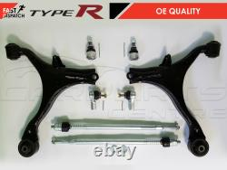 For Honda CIVIC Ep3 Type R 2.0 Lower Wishbone Control Arms Ball Joint Track Rods