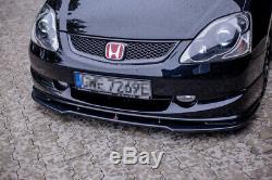 Front Splitter For Honda CIVIC Ep3 (mk7) Type-r/s Facelift (2004-2006)