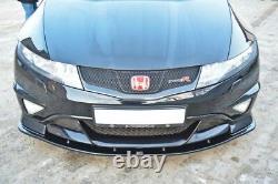Front Splitter For Honda CIVIC Mk8 Type R Gp (2007-2010)