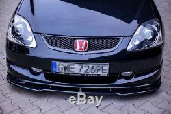 Front Splitter Honda CIVIC Ep3 (mk7) Type-r/s Facelift (2004-2006)