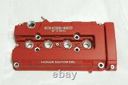 Genuine HONDA Type R RED Valve Cover CIVIC EK9 INTEGRA DC2 12310-P73-A00 OEM
