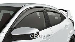 Genuine OEM Honda CIVIC TYPE-R HATCHBACK Door Visor Kit (2017 2020)