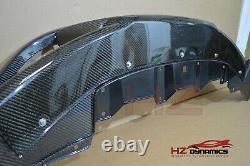 Gp Look Carbon Fiber Front Lip With Mesh For Honda CIVIC Fn2 Fk Fn Type R