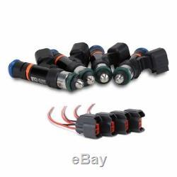 Grams 1000cc K-series Fuel Injectors Honda CIVIC Si Acura Rsx Type-s Tsx K20 K24