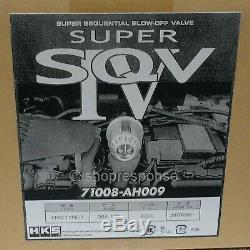 HKS Super SQV4 Blow Off Valve For 17-20 Honda Civic Type R FK8 K20C1 71008-AH009