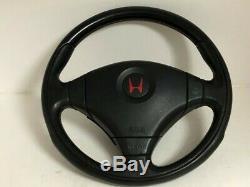 HONDA Genuine Civic type R EK9 Momo Steering JDM Red stitch Beauty products