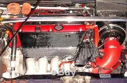 Honda CIVIC Ep3 Type R Integra Dc5 K20 Rsx Carbon Fibre Engine Manifold Cover