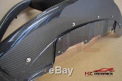 Honda CIVIC Fn Fn2 Fk Type R 2006 2011 Gp Carbon Fiber Front Bumper Lip Spoiler
