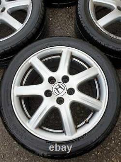 Honda CIVIC Mk8 17 Alloy Wheels Rims 5x114.3 Accord Crv Sport Type S