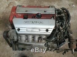 Honda CIVIC Type R 2.0 Vtec K20z4 Engine Conversion Integra 200 Bhp K Swap