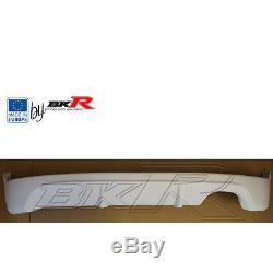 Honda Civic BK-R rear splitter lip 01 05 type R EP1, 2, 3, 4 with diffuser