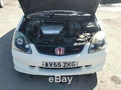 Honda Civic EP3 Type R WHITE + Recaros FINANCE AVAILABLE