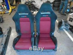 Honda Civic FN2 Type R 2008 recaro front seats