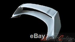 Honda Civic FN2 Type R Mugen Style Rear Spoiler With Adjustiable Blade