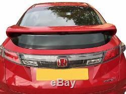 Honda Civic FN/FK 3dr Type R Boot Spoiler/Wing 2006-2011 Grey Primer New