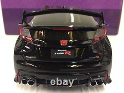 Honda Civic Type R Black 118 Scale Resin Kyosho KSR18022BK