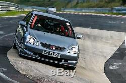 Honda Civic Type R EP3'04 targa rally, trackday multi-use car + spares Read on